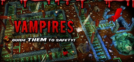 Vampires: Guide Them to Safety!